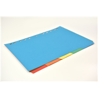Brightly Coloured Dividers