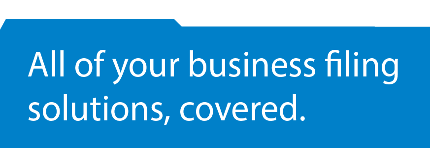 All of your business filing solutions, covered.